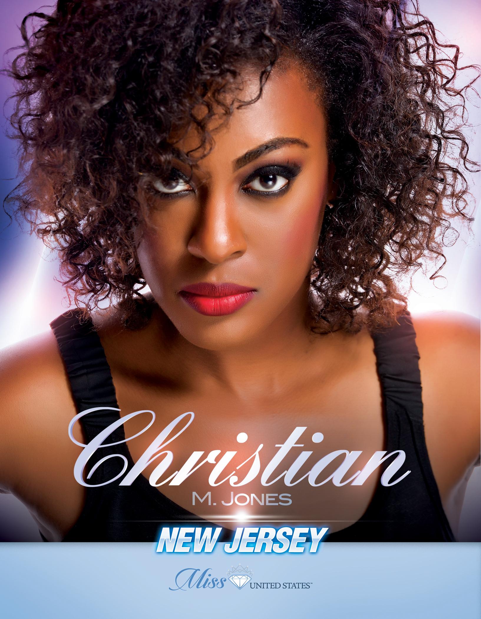 Christian Jones Miss New Jersey United States - 2019