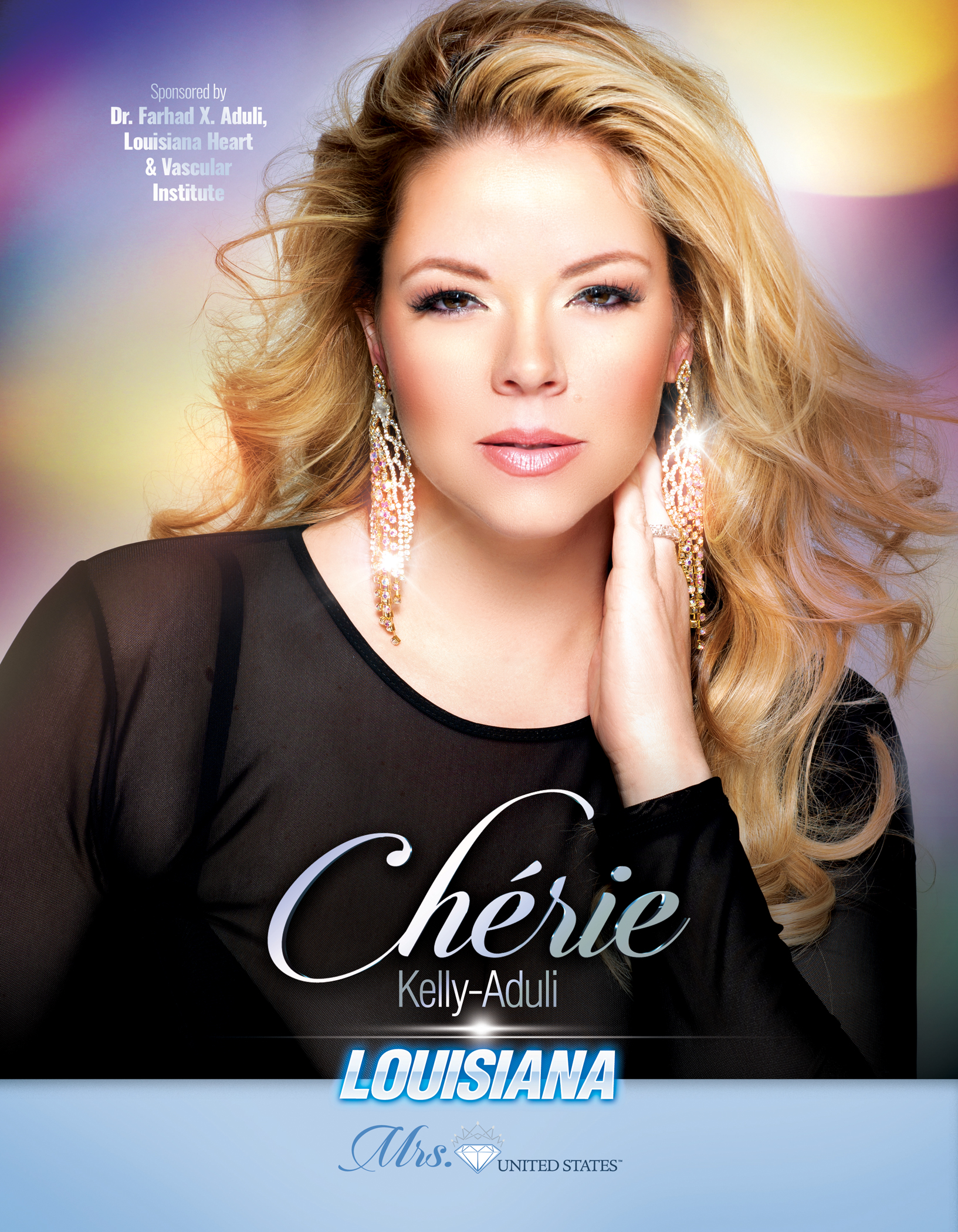 Cherie Aduli Mrs. Louisiana United States - 2019