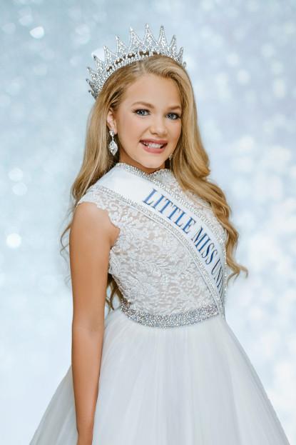 Caroline Grace Dowdy Little Miss United States - 2020