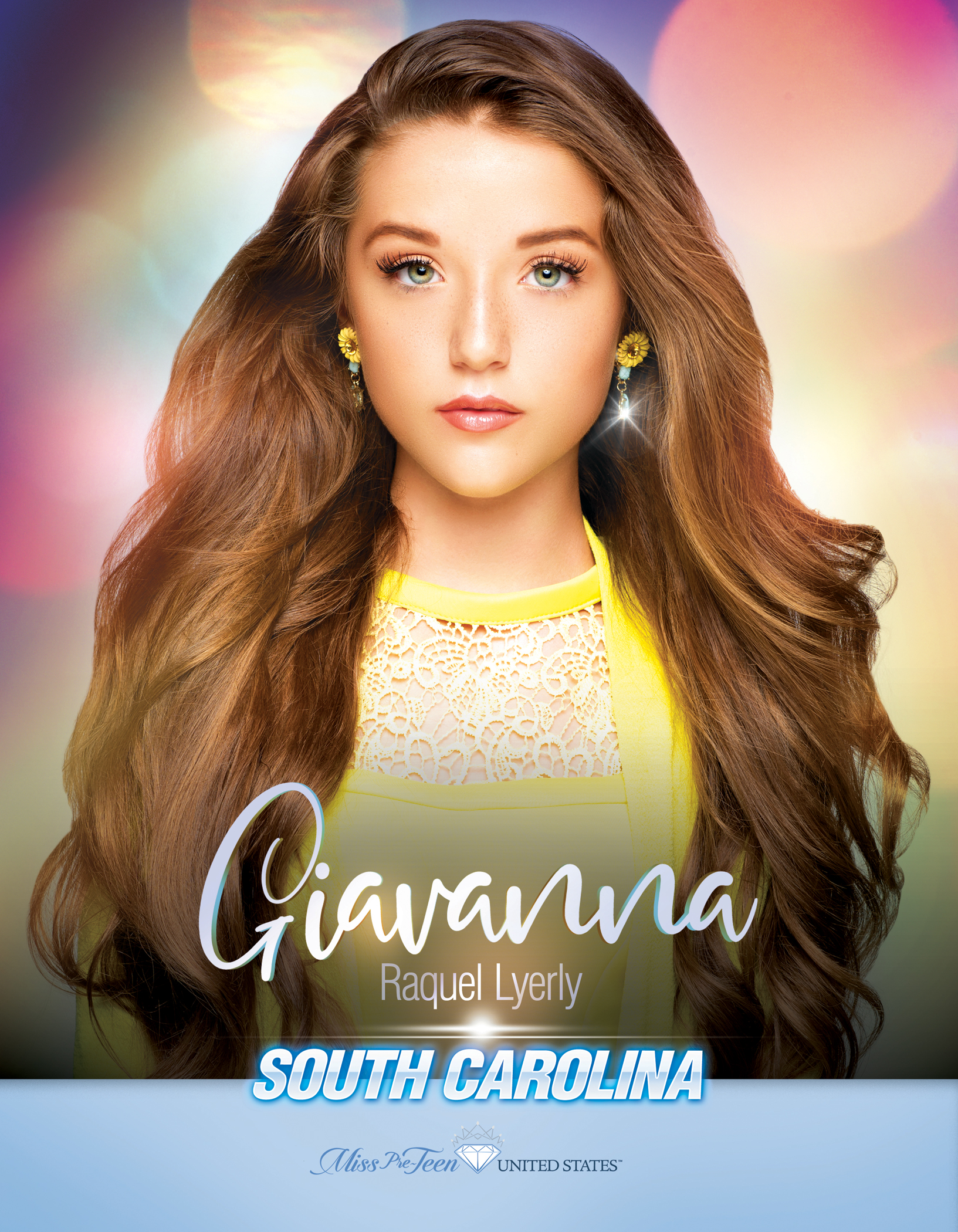 Giavanna Lyerly Miss Pre-Teen South Carolina United States - 2019