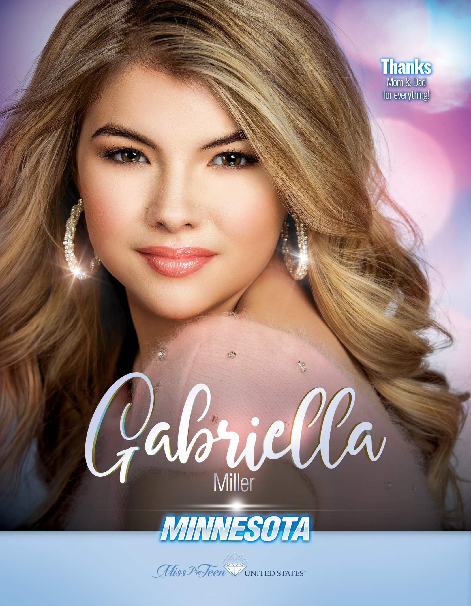 Gabriella Miller Miss Pre-Teen Minnesota United States - 2019
