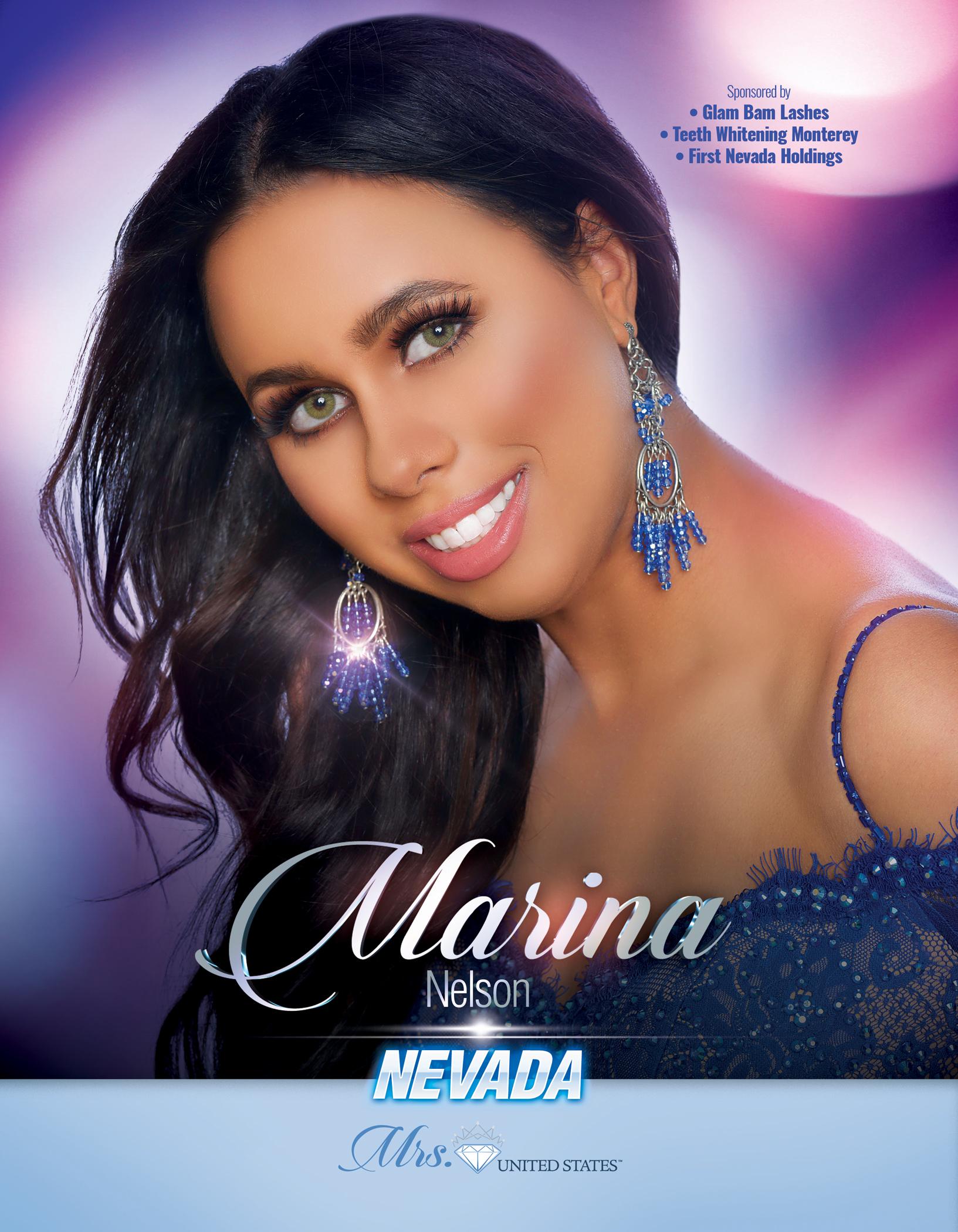 Marina Nelson Mrs. Nevada United States - 2019