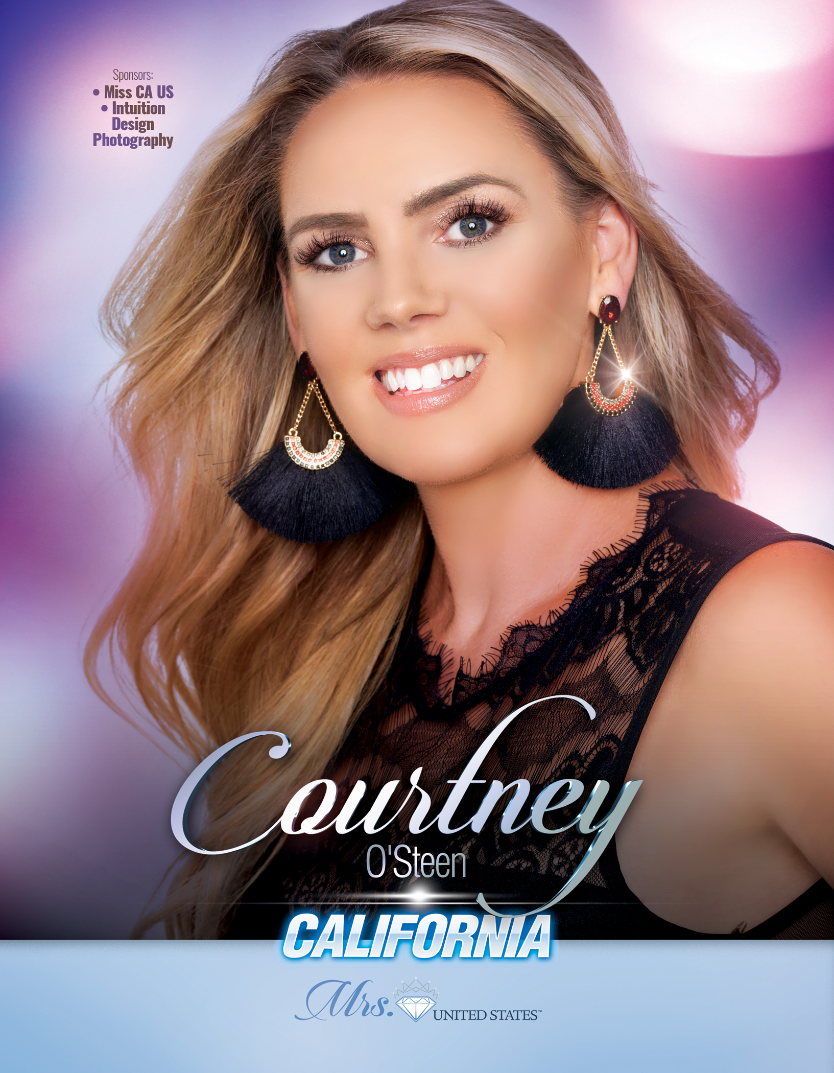 Courtney O'Steen Mrs. California United States - 2019
