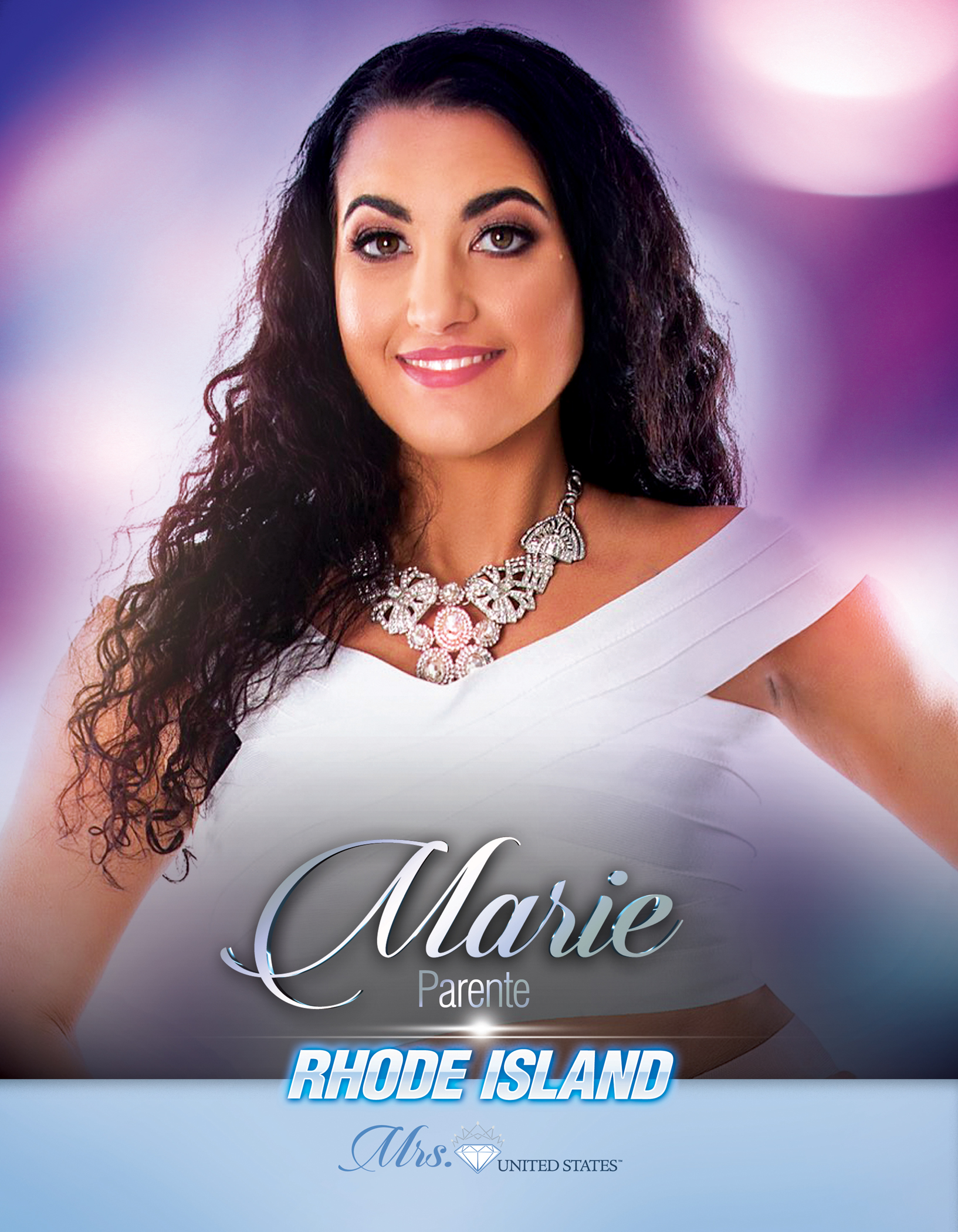Marie Parente Mrs. Rhode Island United States - 2019