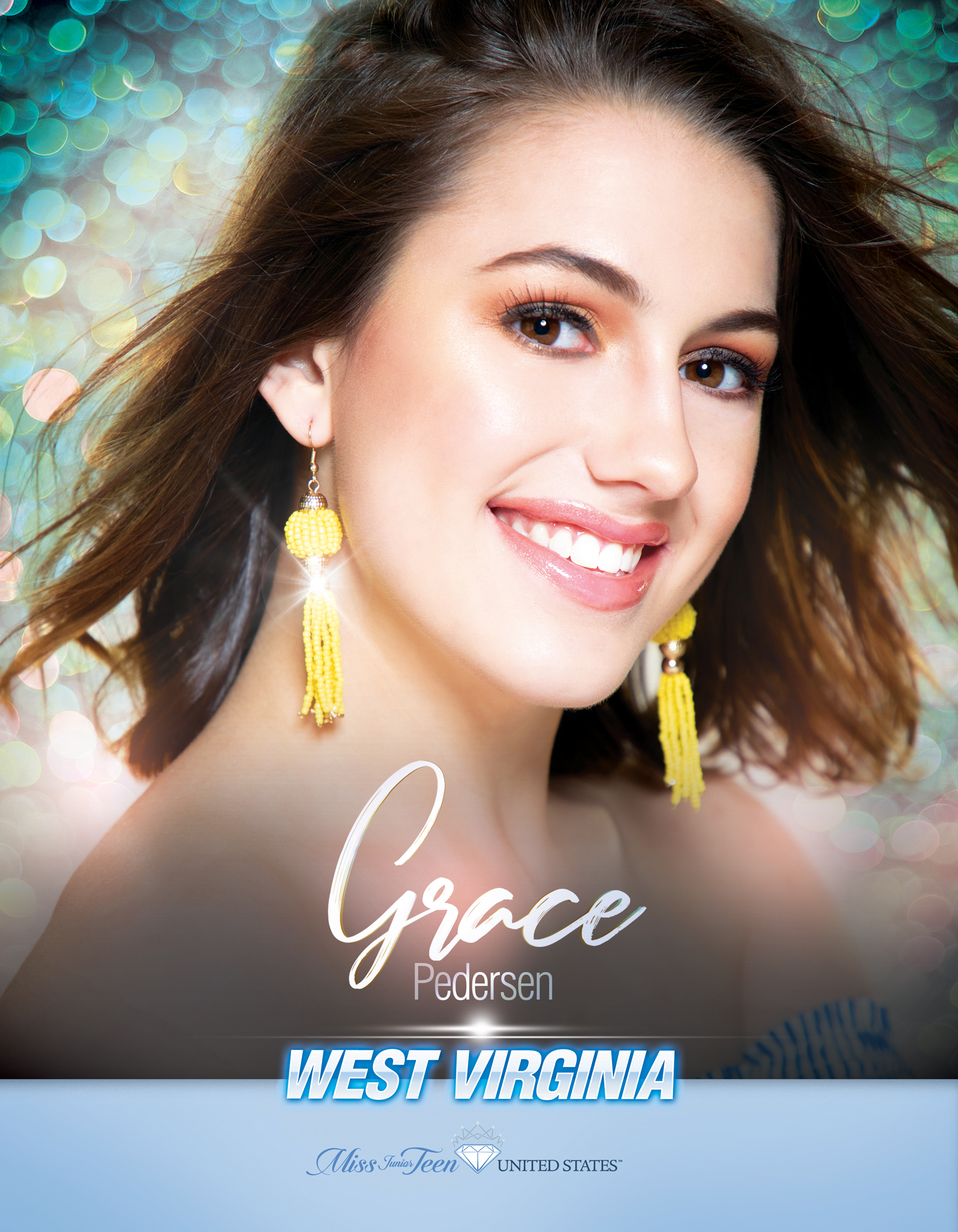 Grace Pedersen Miss Junior Teen West Virginia United States - 2019