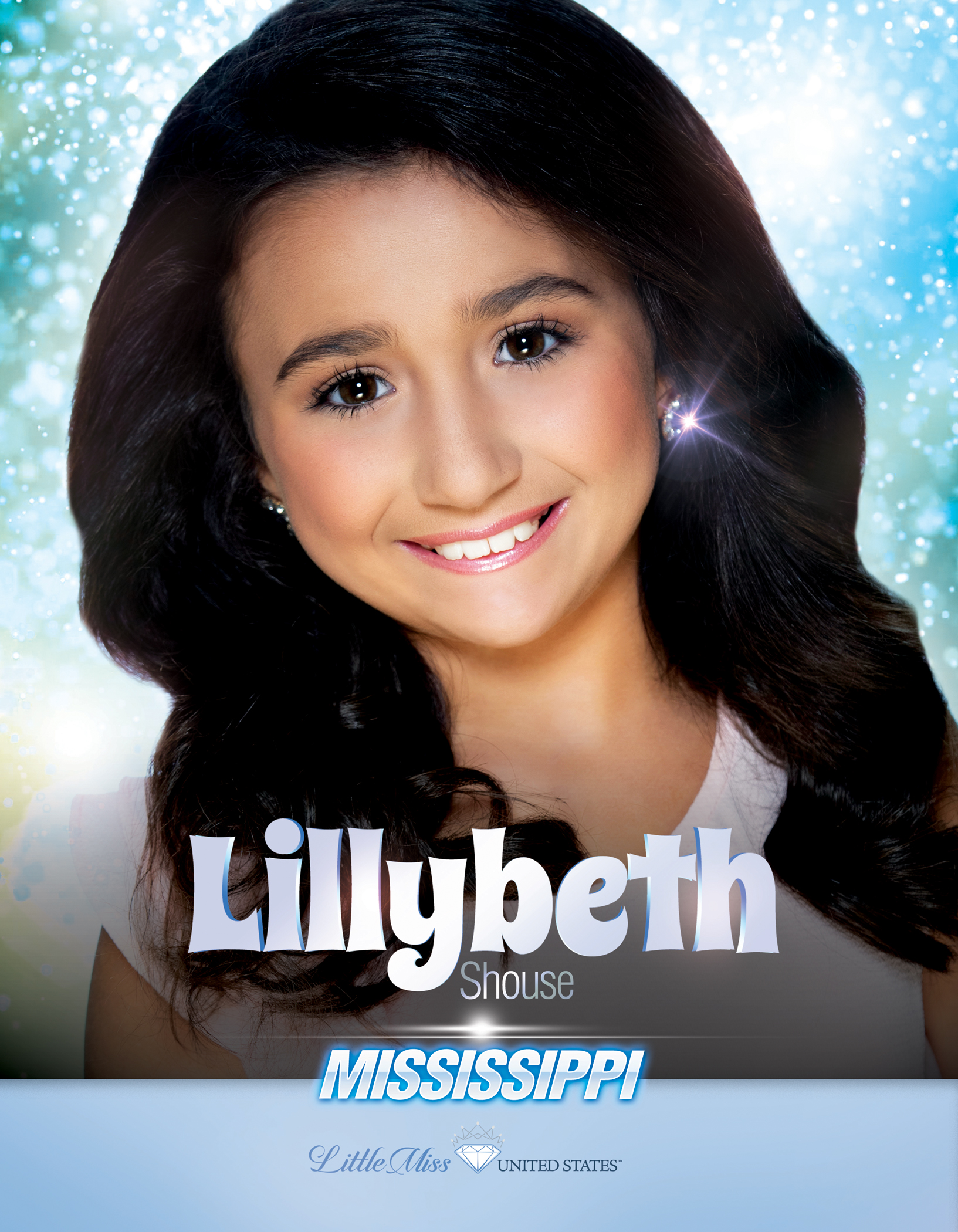 Lillybeth Shouse Little Miss Mississippi United States - 2019
