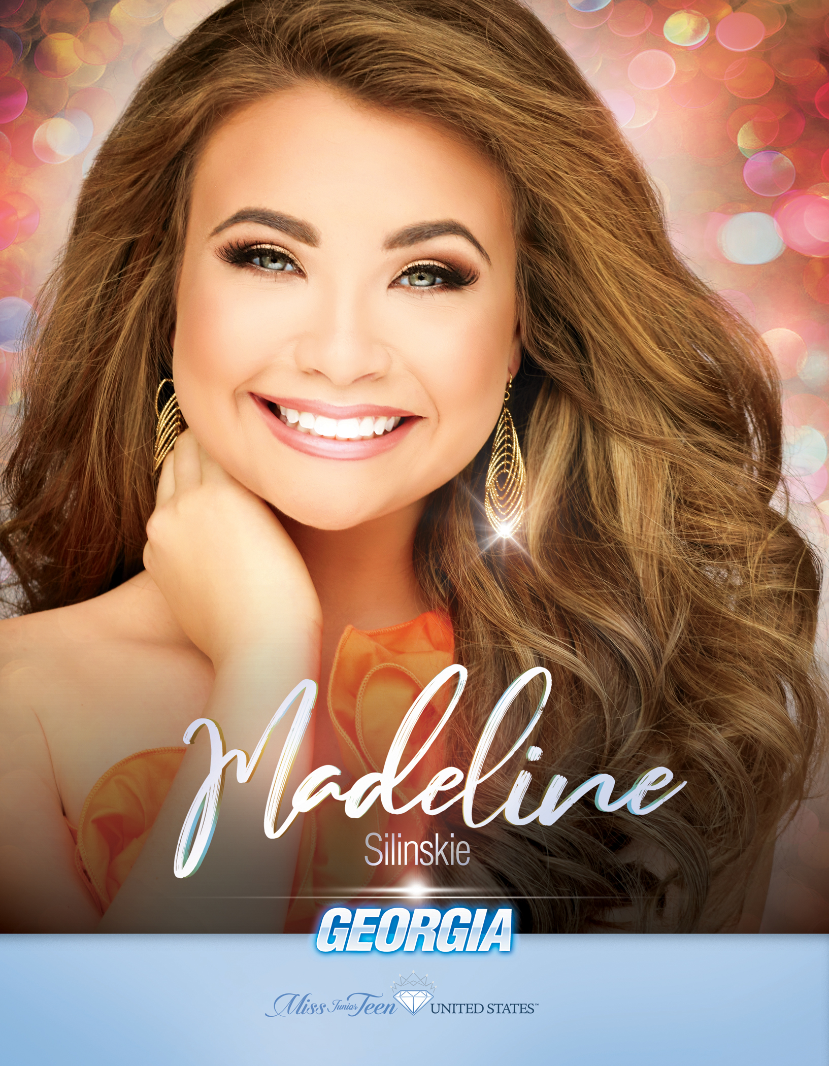 Madeline Silinskie Miss Junior Teen Georgia United States - 2019