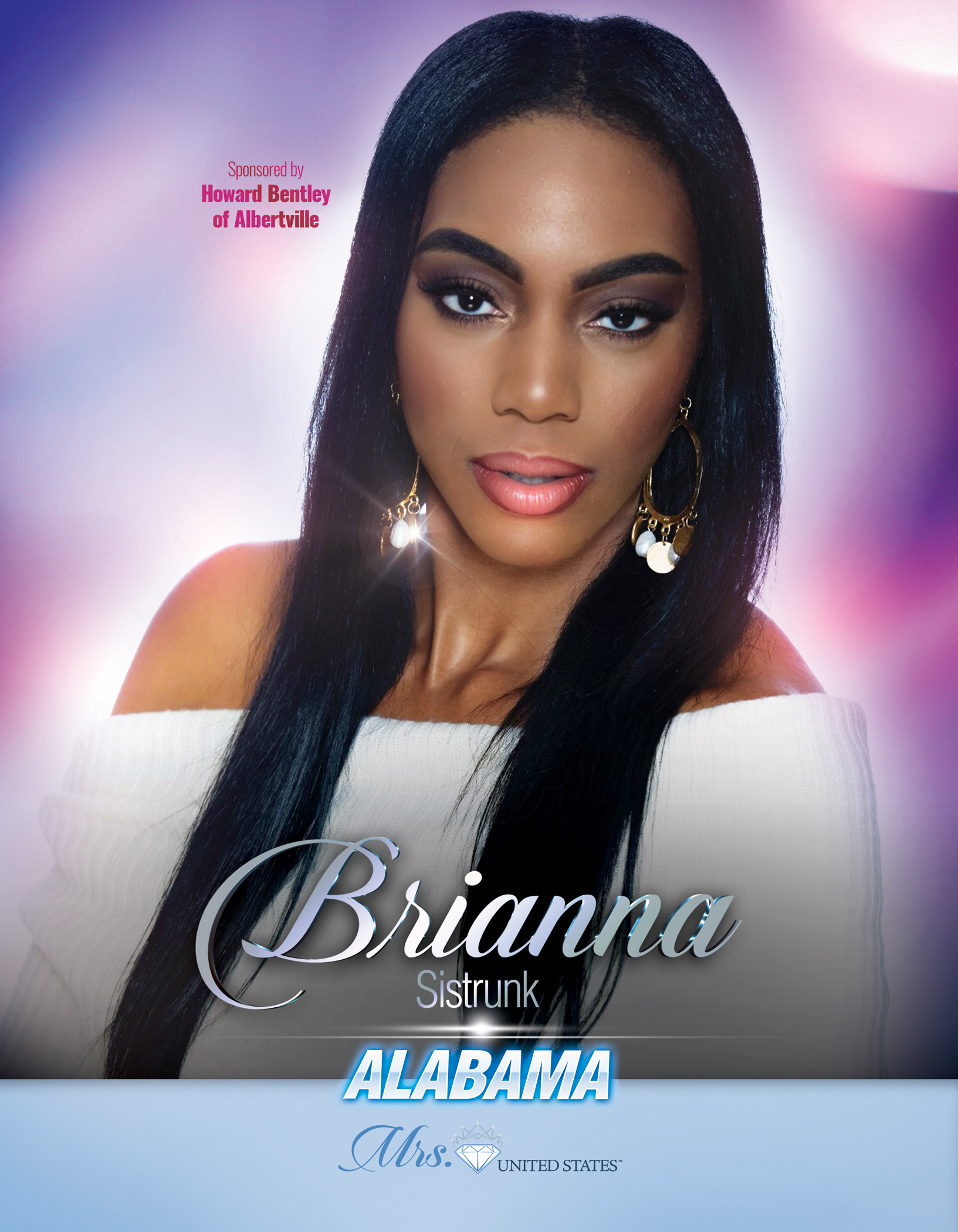Brianna Sistrunk Mrs. Alabama United States - 2019