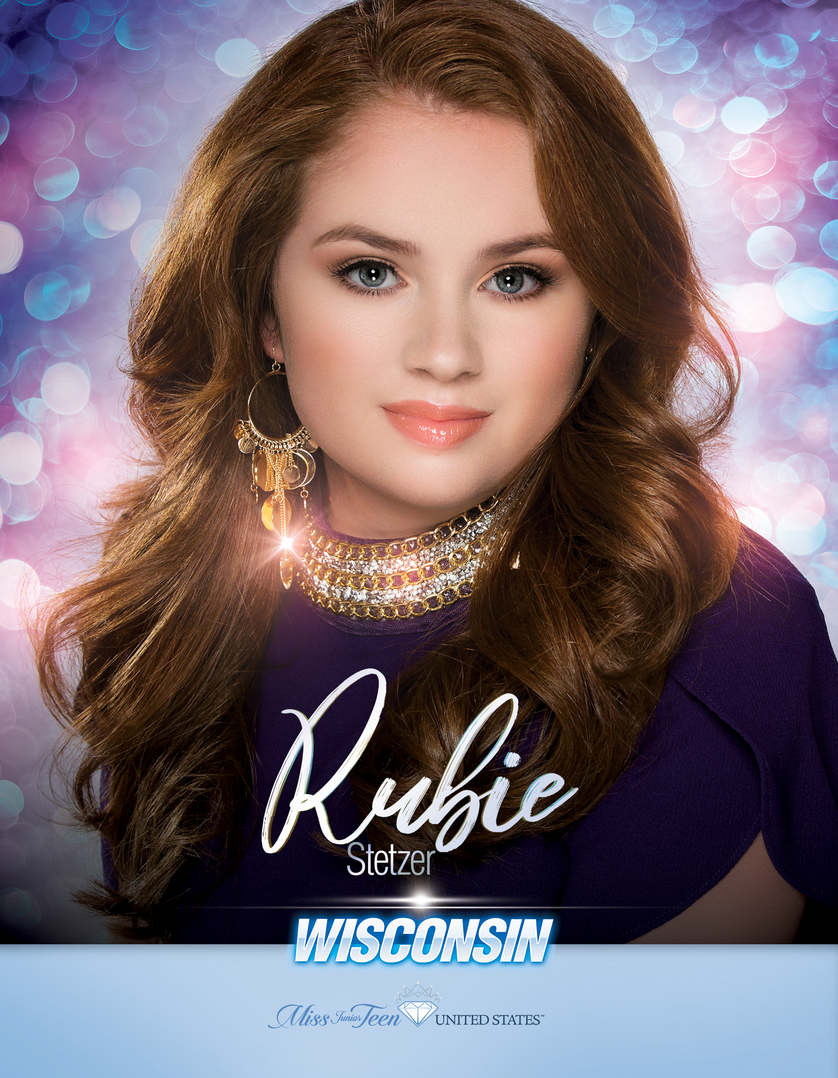 Rubie Stetzer Miss Junior Teen Wisconsin United States - 2019