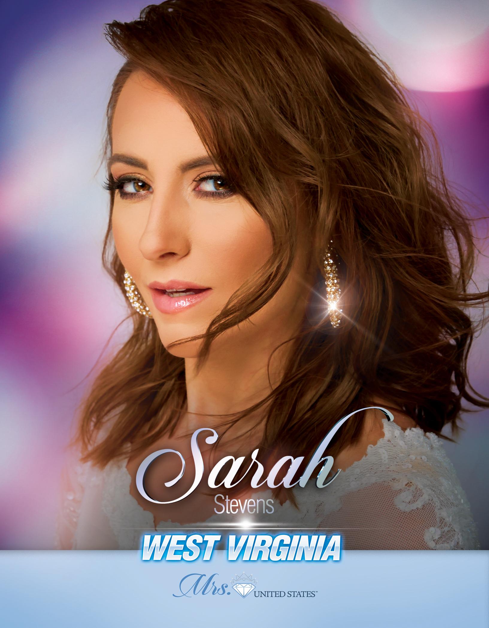Sarah Stevens Mrs. West Virginia United States - 2019
