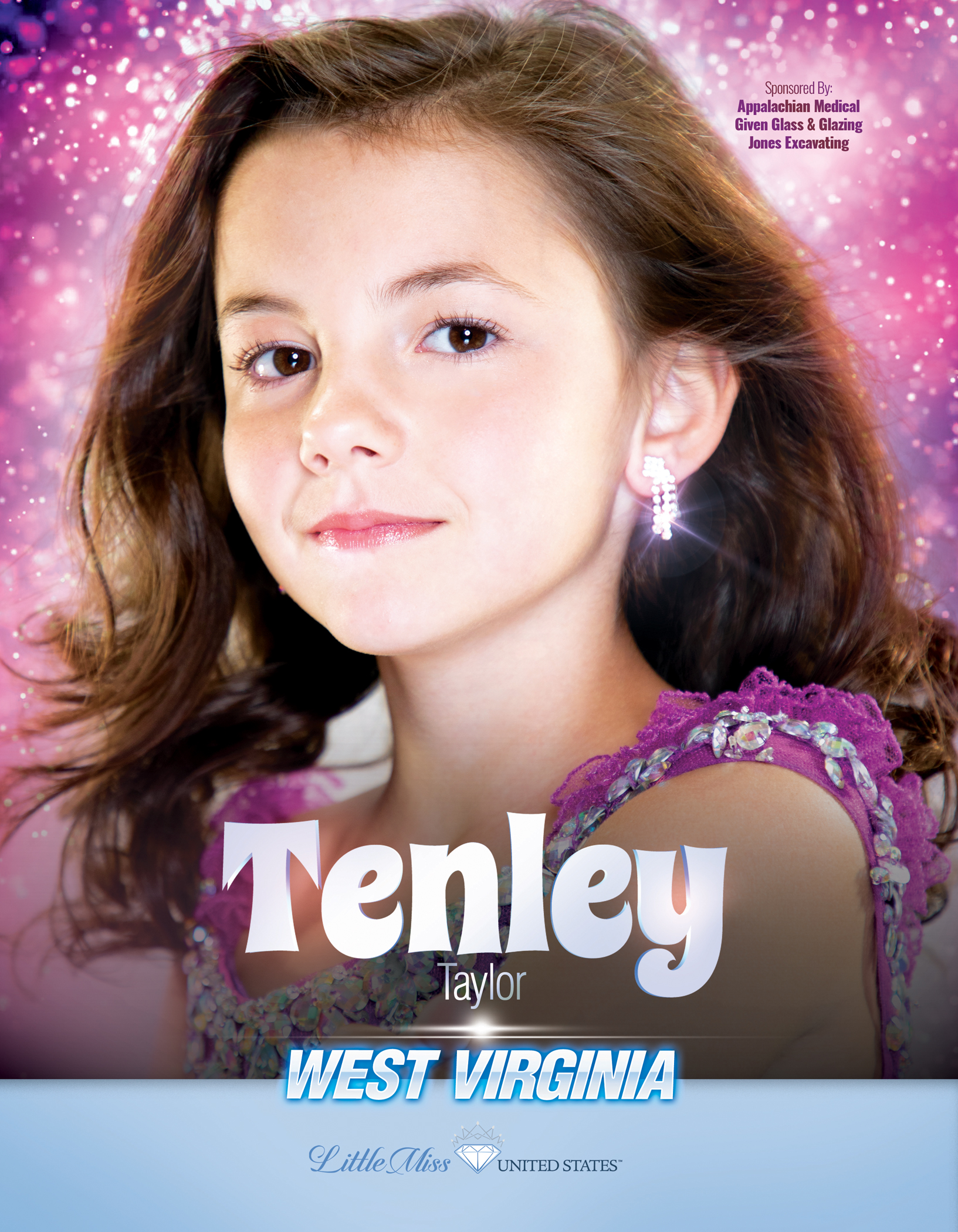 Tenley Taylor Little Miss West Virginia United States - 2019