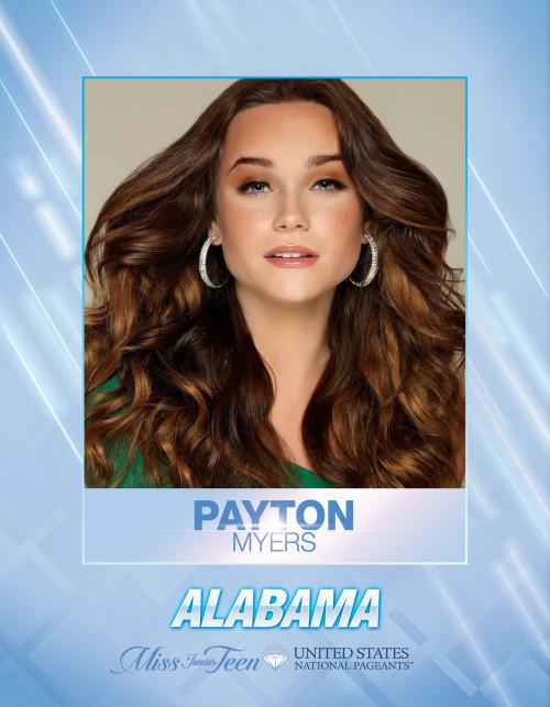 Payton Myers Miss Junior Teen Alabama United States - 2021