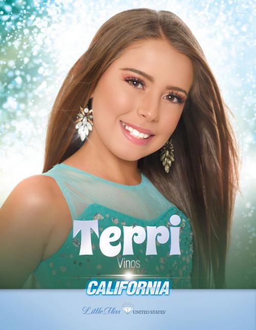 Terri Vinos Little Miss California United States - 2020