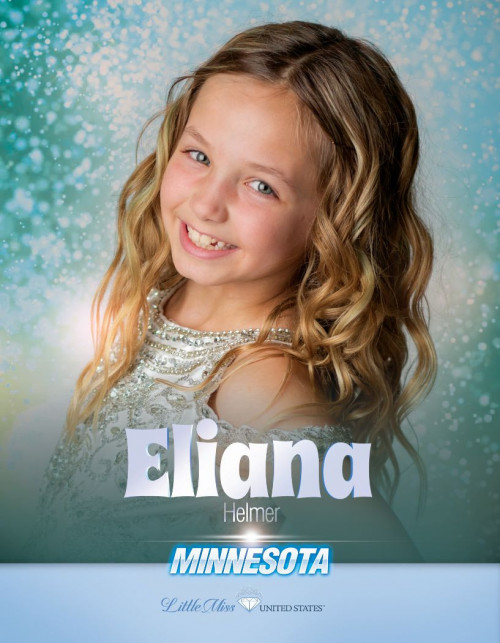 Eliana Helmer Little Miss Minnesota United States - 2020