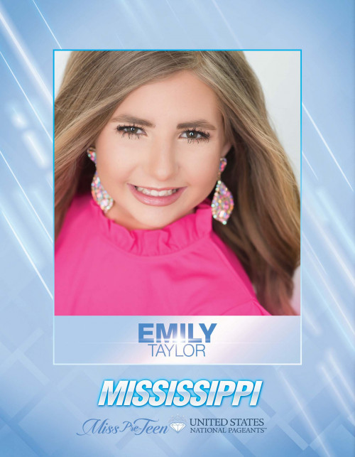 Emily Taylor Miss Pre-Teen Mississippi United States - 2021