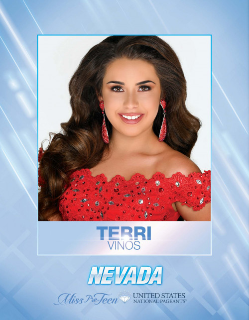 Terri Vinos Miss Pre-Teen Nevada United States - 2021
