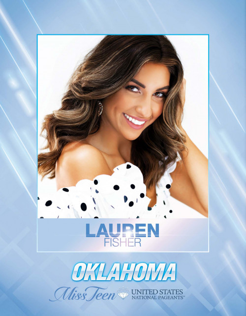 Lauren Fisher Miss Teen Oklahoma United States - 2021