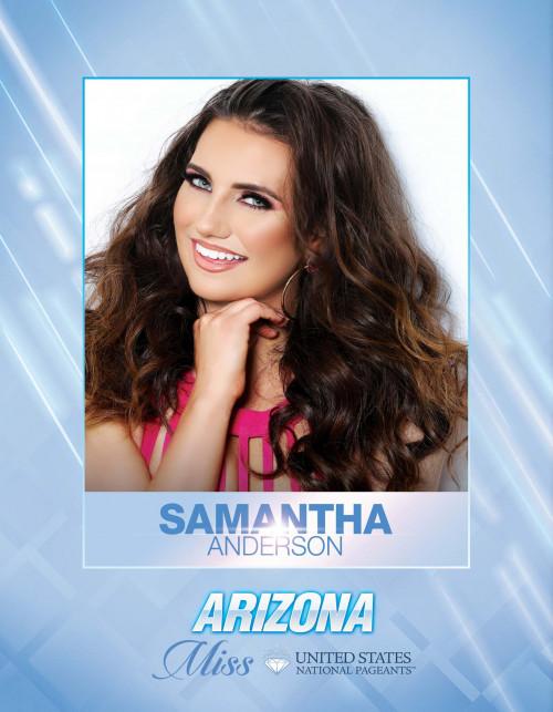 Samantha Anderson Miss Arizona United States - 2021