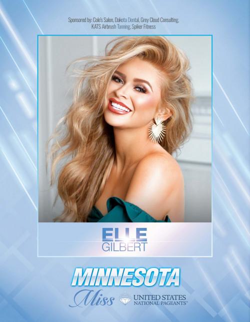 Elle Gilbert Miss Minnesota United States - 2021