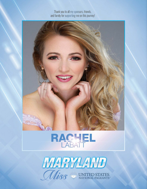 Rachel LaBatt Miss Maryland United States - 2021