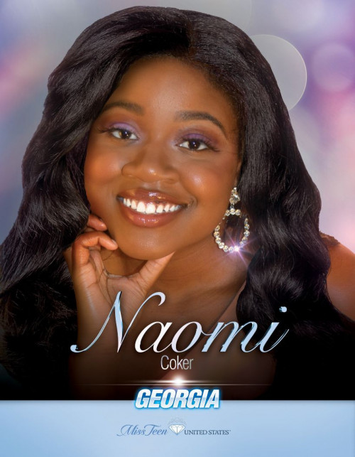 Naomi Coker Miss Teen Georgia United States - 2020