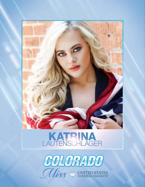 Katrina Lautenschlager Miss Colorado United States - 2021
