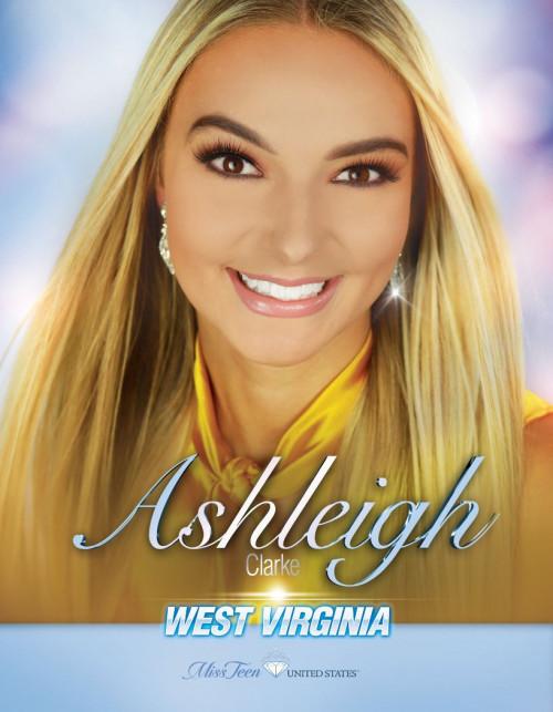 Ashleigh Clarke Miss Teen West Virginia United States - 2020