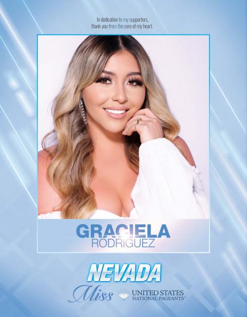 Graciela Rodriguez Miss Nevada United States - 2021