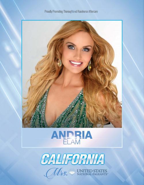 Andria Elam Mrs. California United States - 2021
