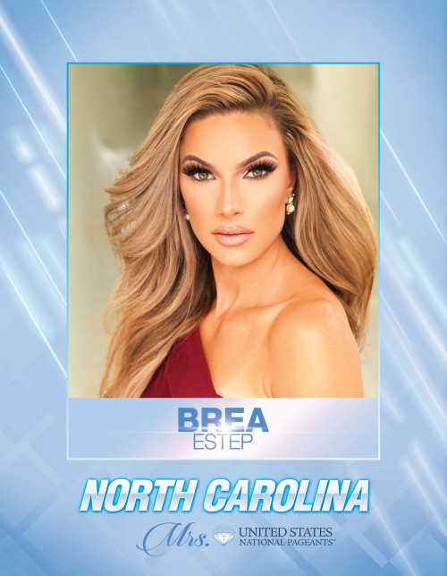 Brea Estep Mrs. North Carolina United States - 2021