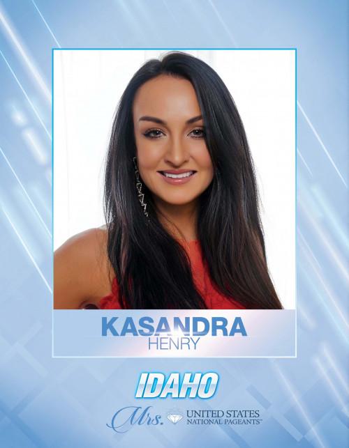 Kasandra Henry Mrs. Idaho United States - 2021