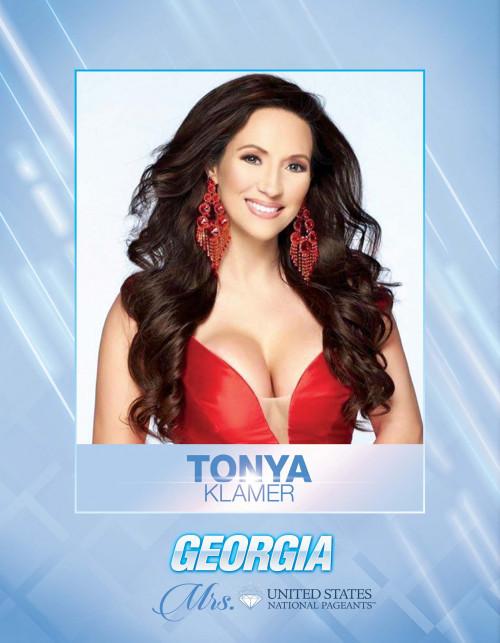 Tonya Klamer Mrs. Georgia United States - 2021