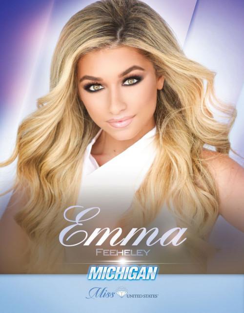 Emma Feeheley Miss Michigan United States - 2020