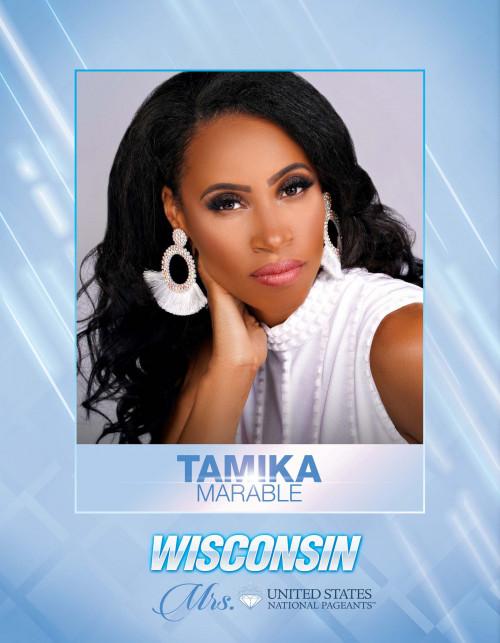 Tamika Marable Mrs. Wisconsin United States - 2021