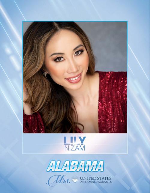 Lily Nizam Mrs. Alabama United States - 2021
