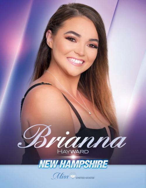Brianna Hayward Miss New Hampshire United States - 2020
