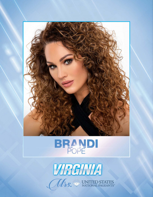 Brandi Pope Mrs. Virginia United States - 2021