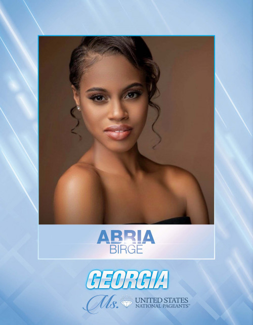 Abria Birge Ms. Georgia United States - 2021