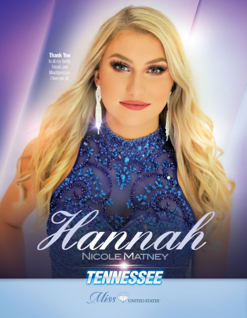 Hannah Matney Miss Tennessee United States - 2020