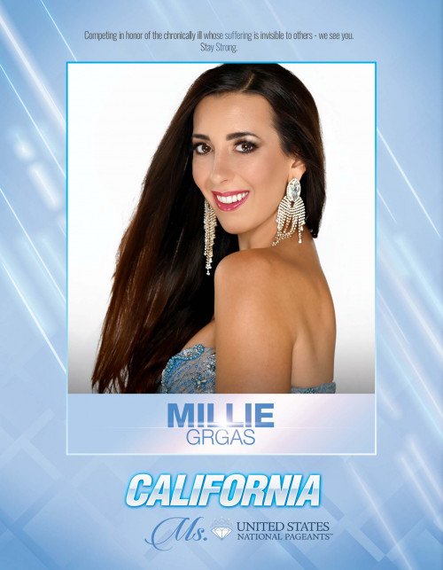 Milena (Millie) Grgas Ms. California United States - 2021