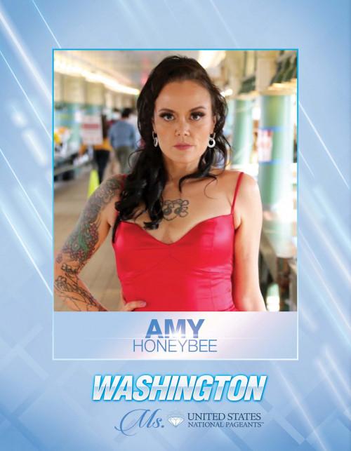 Amy Honeybee Ms. Washington United States - 2021