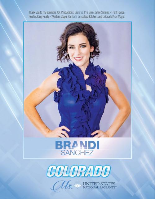 Brandi Sanchez Ms. Colorado United States - 2021
