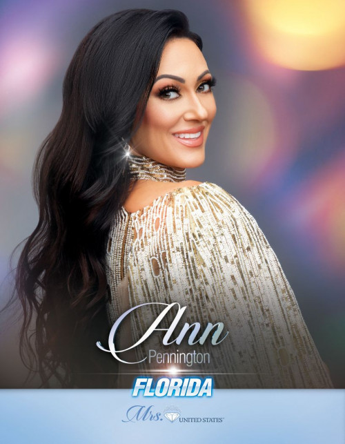 Ann Pennington Mrs. Florida United States - 2020