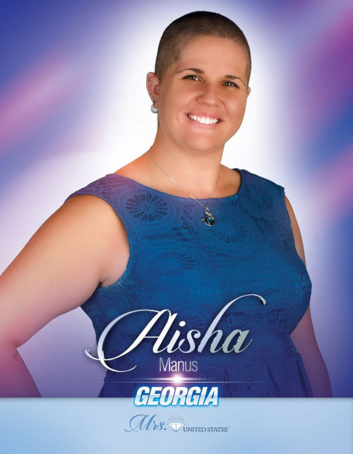 Aisha Manus Mrs. Georgia United States - 2020