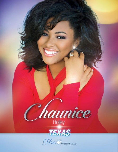 Chaunice Holley Mrs. Texas United States - 2020