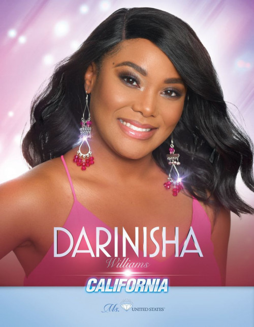Darinisha Williams Ms. California United States - 2020