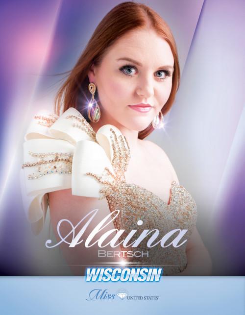 Alaina Bertsch Miss Wisconsin United States - 2019
