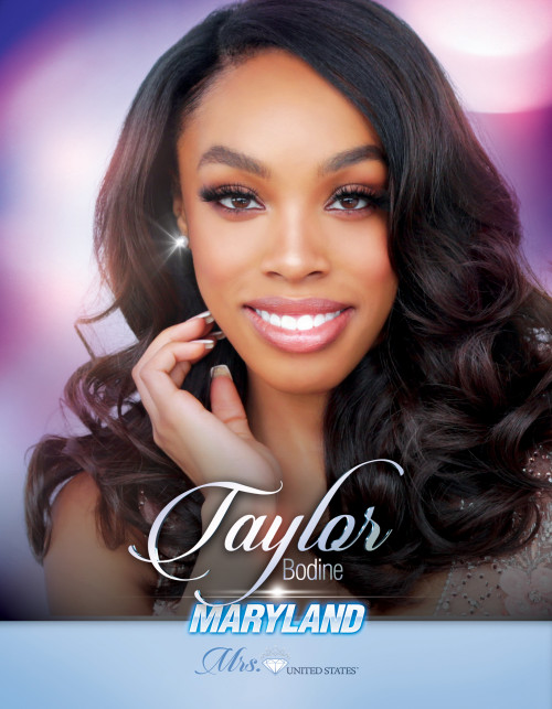 Taylor Bodine Mrs. Maryland United States - 2019