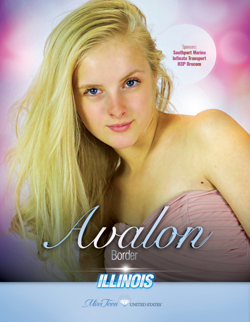 Avalon Border Miss Teen Illinois United States - 2019