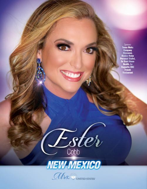 Ester Cobb Mrs. New Mexico United States - 2019